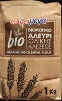 Organic wholemeal flour - Προϊόν - fr