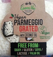 Cheese - Vegan - Grated Parmesan Flavour - Produit - en