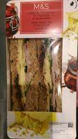 Sandwichs Jambon, Fromage et Pickles - Produit