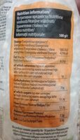 Chocolate Muesli - Nutrition facts - fr
