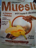 Muesli sa bananom i čokoladom - Product