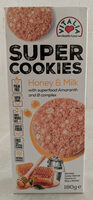 Oat cookies with honey and milk - Product
