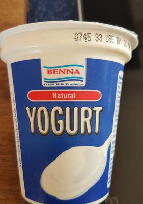 Yogurt natural - Produit - en