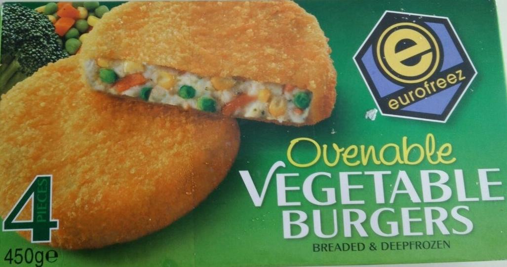 ovenable vegetable burgers - Produit - en