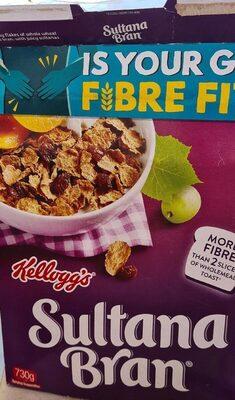 Kellogg's Sulatana Bran - Product - en