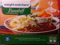 Weight Watchers Pannbiff och potatisgratäng - Produit