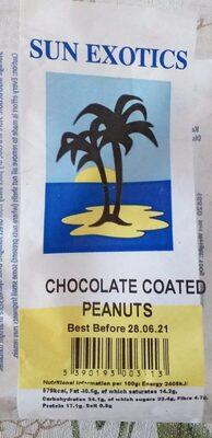 Chocolate coated peanuts - Produit - en