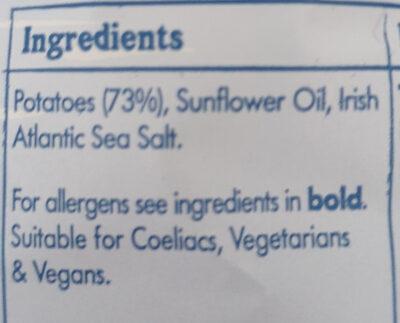 Irish Atlantic Sea Salt - Ingredients - en