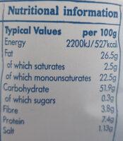 Irish Atlantic Sea Salt - Nutrition facts - en