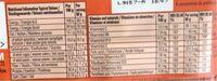 Fulfil coconut - Nutrition facts - en