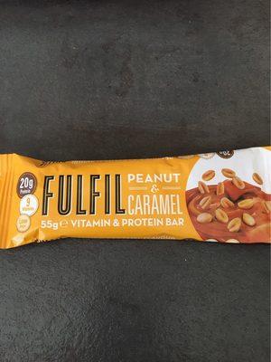 Fulfil Peanut & Caramel Protein Bar - Nutrition facts - fr