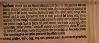 White Chocolate & Cookie Dough Vitamin & Protein Bar - Ingredients - fr