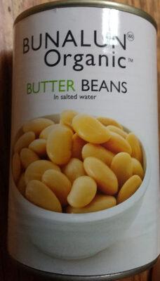 Organic Butter Beans - Product - en