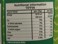 Biscuit cake belgian choc - Nutrition facts - en