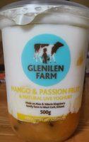Mango & passion fruit & natural live yoghurt - Product - en
