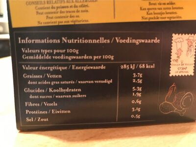 & Sully A Mild Thai Chicken Soup - Nutrition facts