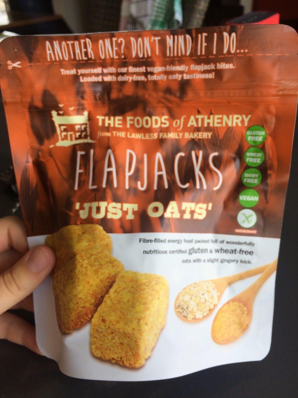 Just oats flapjacks - Product - fr