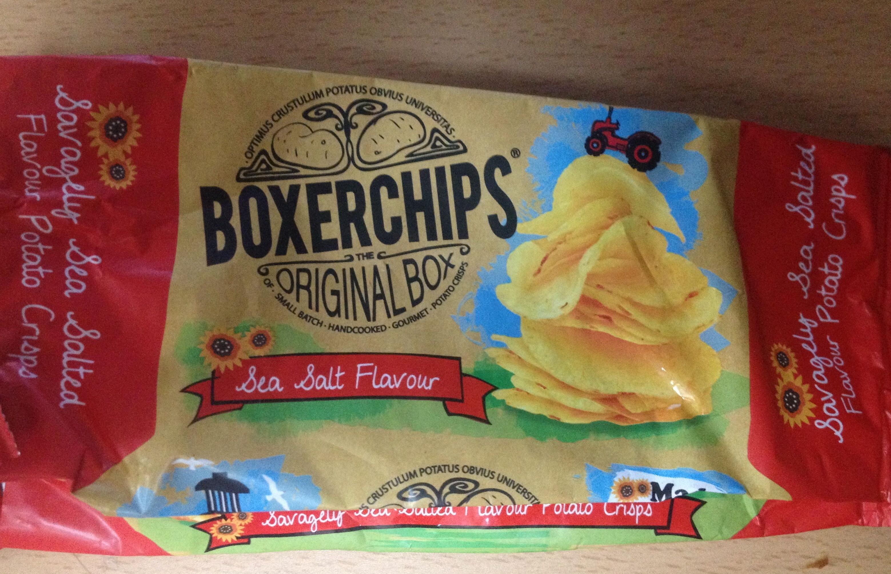 Boxerchips original box sea salt flavour - Product