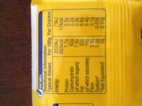 Tuc crackers original - Nutrition facts - en