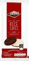 6 Rice Cakes Dark Chocolate - Prodotto - fr