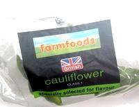 British cauliflower class 1 - Product