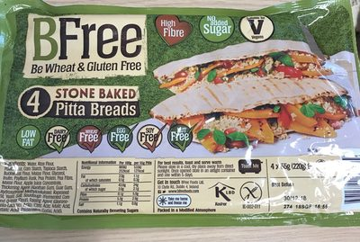 Stone baked pitta bread - Product