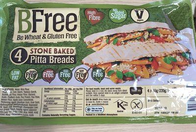 Stone baked pitta bread - Product - en