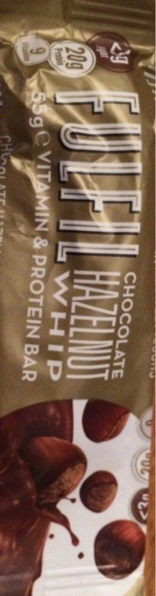 Hazelnut Whip Vitamin & Protein Bar - Product - fr