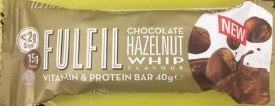 Chocolate Hazelnut Whip Flavour Vitamin & Protein Bar - Produit - fr