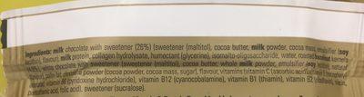 Chocolate Hazelnut Whip Flavour Vitamin & Protein Bar - Ingrédients - fr