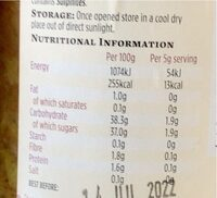 Fermented fruits & spices - Nutrition facts - en