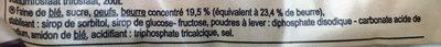 Madeleines Coquilles Pur beurre - Ingrediënten - fr
