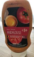 Sauce andalouse - Produit - fr