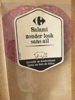 Salami sans ail - Product