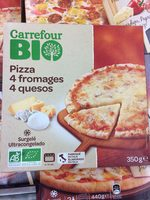 Pizza 4 fromages bio - Product - fr
