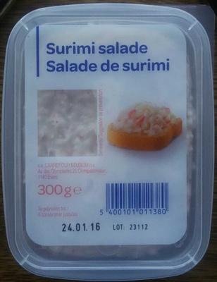 Salade de surimi - Product - fr