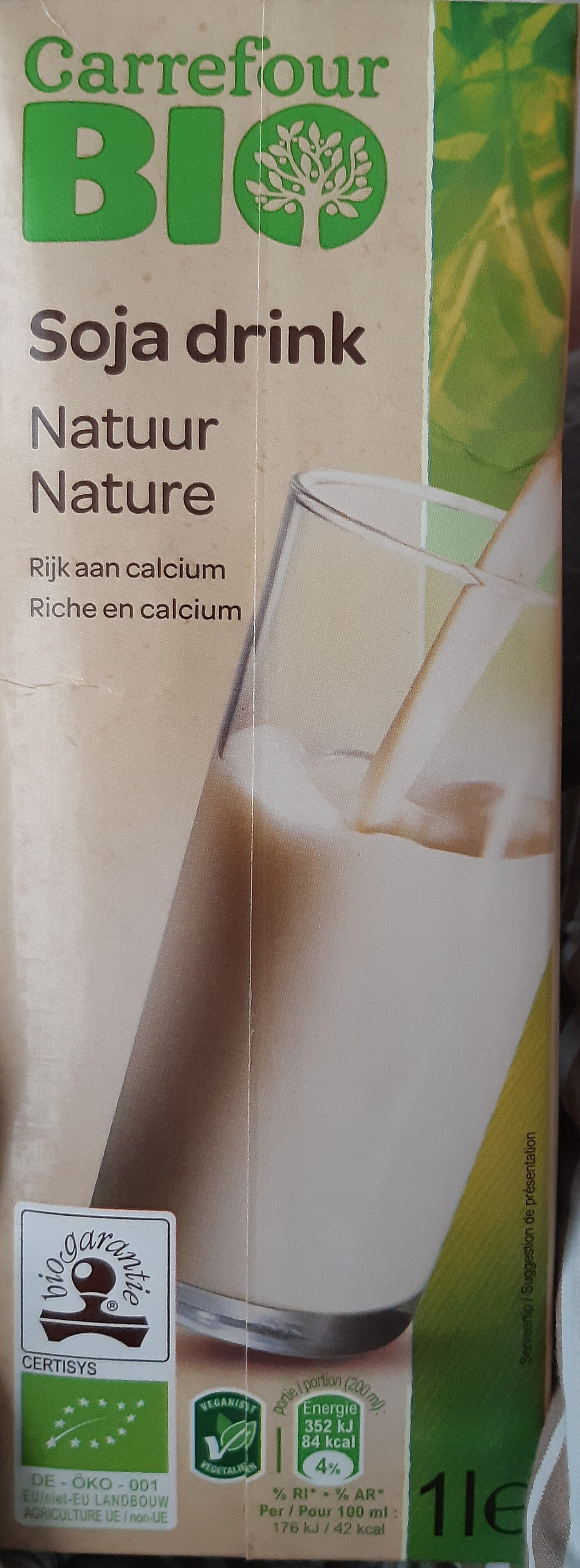 Soja drink nature Bio - Product - fr