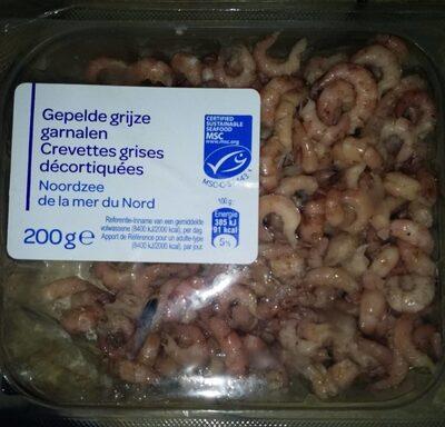 crevettes grises décortiquées - Product - fr