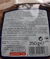 Mélange raisins secs - Informations nutritionnelles - fr