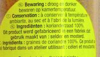 Carrefour - Ingrediënten