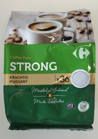 Coffee pads strong - Product - fr