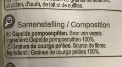Graine de courge - Ingrédients - fr