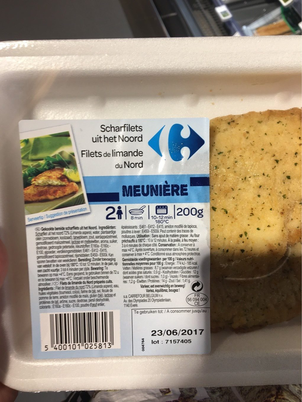 Filet de limande - Product