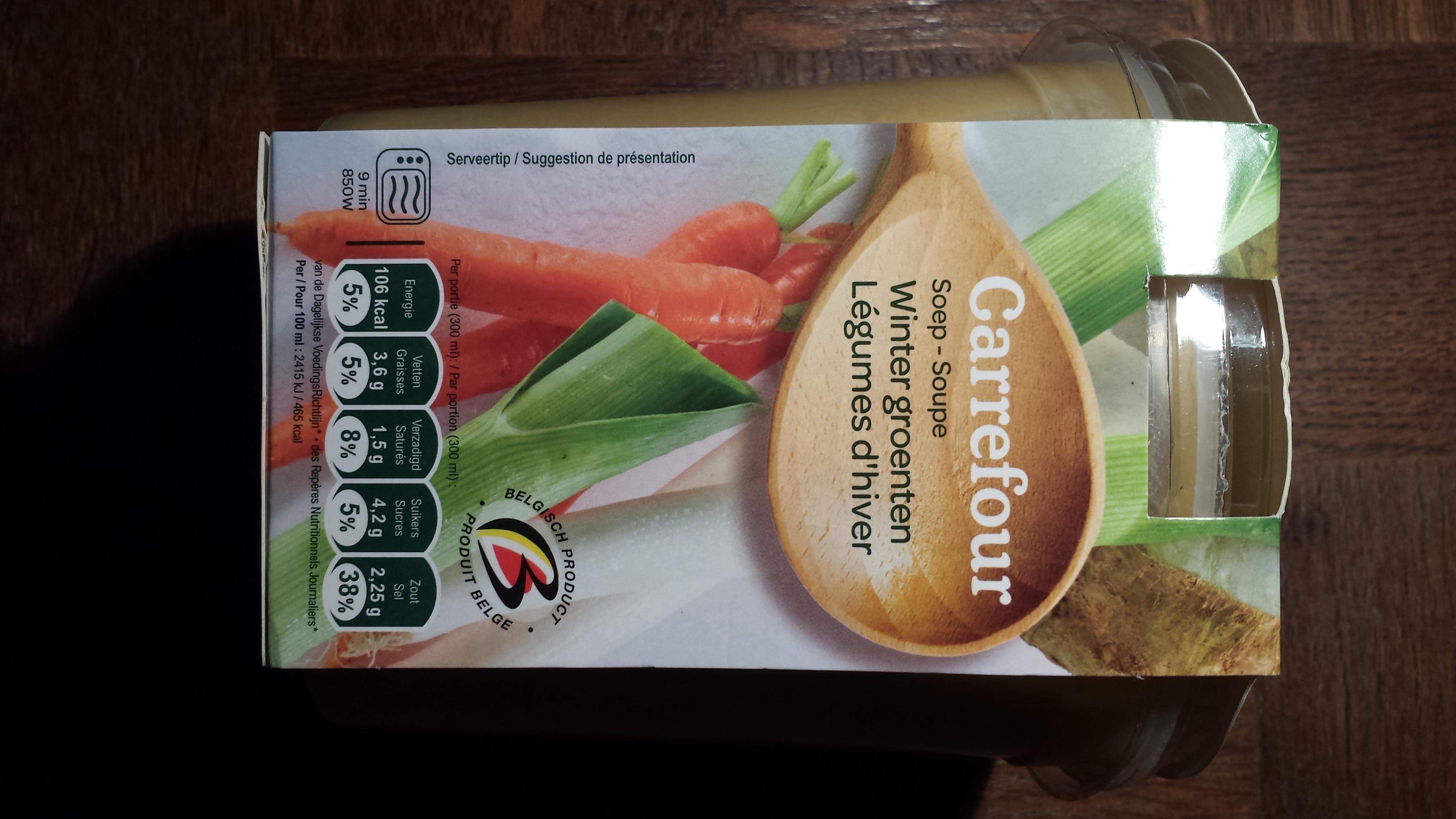 Soupe légume d'hiver - Product