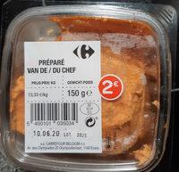 Filet Américain Préparé du Chef - Produit - fr