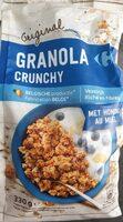 Granola crunchy - Product - fr
