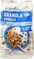 Granola crunchy - Produit - fr