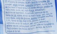 Granola crunchy - Ingrédients - fr