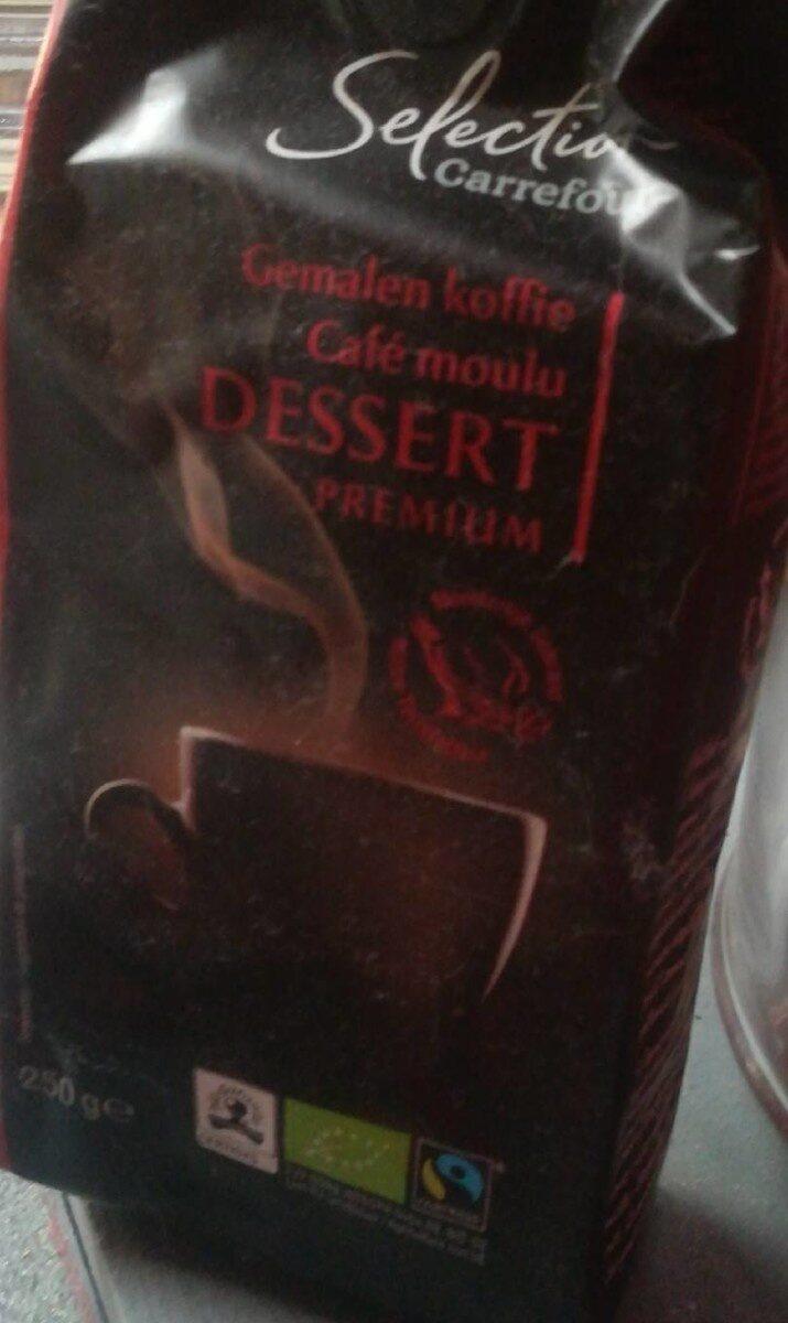 Café moulu DESSERT - Informations nutritionnelles - fr