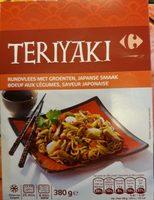Teriyaki boeuf aux légumes, saveur japonaise - Product - fr